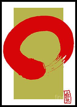 Zen and red  by Frank  Gulsftream