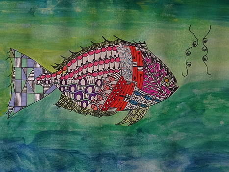 Nancy Fillip - Zen Fish