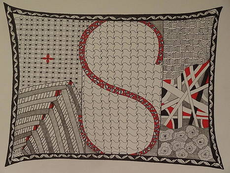 Nancy Fillip - Zentangle Abstract