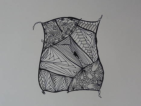 Nancy Fillip - Zentangle Pillow