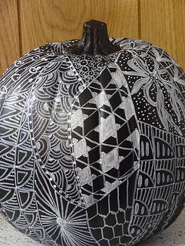Nancy Fillip - Zentangle Pumpkin