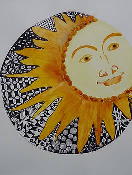 Nancy Fillip - Zentangle Sun