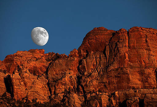 Zion Moonrise by David Yunker
