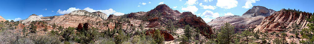 Zion Offroad Panorama by Michelle Claudio