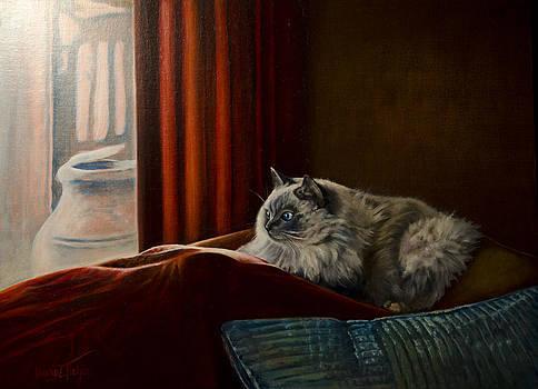 Zoe Watching the Birds by Laurie Tietjen