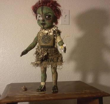 Zombie Flower Girl by Meg Sloss