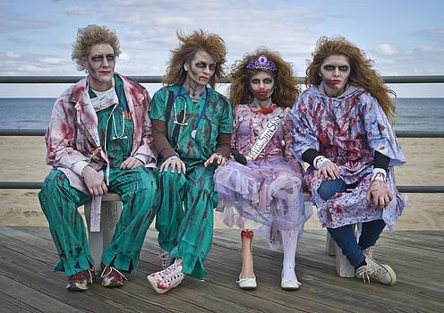Zombie Medical Family by Andrew Kazmierski