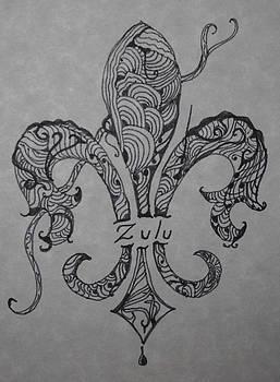 Marian Hebert - Zulu Fleur de Leis