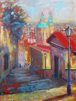 Prague by Margaret  Plumb