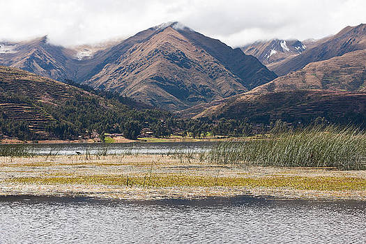 Andean Lake by Kusi Seminario