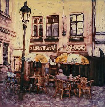 Bar U Klicu  Prague by Rod Huling