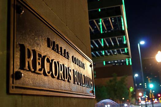 Dallas Records Building by Jennifer Zandstra