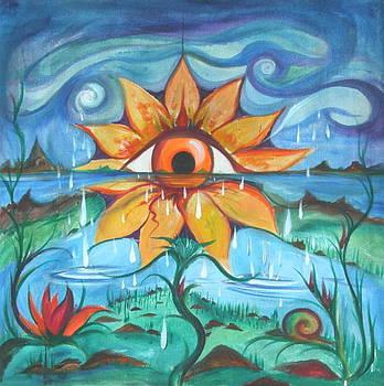 Eyeflower by Elizabeth Zaikowski