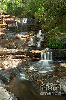 Glen Falls in Sunshine by Matt Tilghman