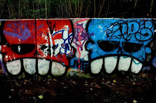 Graffiti wall by Frank DiGiovanni