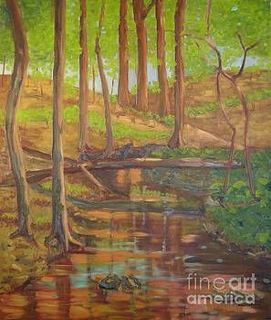 Nebletts Creek II by Lilibeth Andre