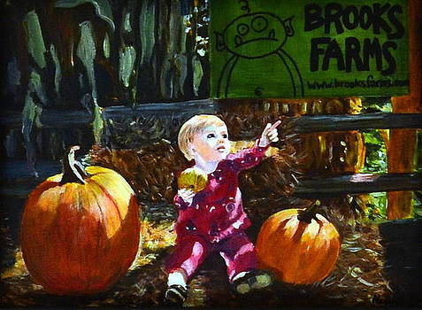 Pumpkin Patch by Henny Dagenais