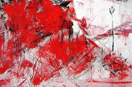 Red Street by Salim Ahmad Gorwal