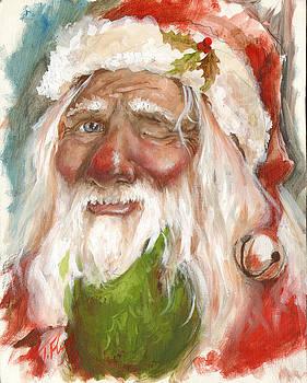 Santa 2011 by Tracy E Flynn