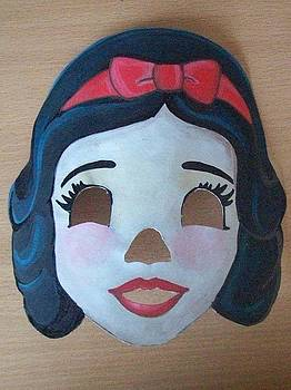 Snow White Mask by Larisa M