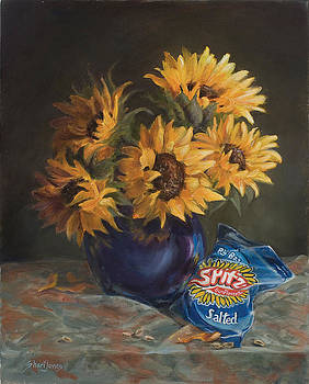 Sunflower seeds by Shari Jones