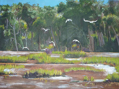 The Marshes by Gloria Smith