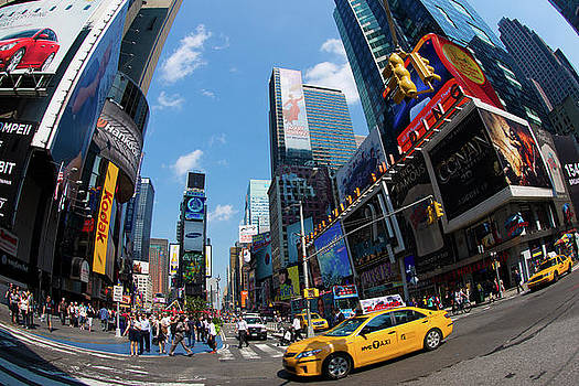Times Square by Peter Verdnik