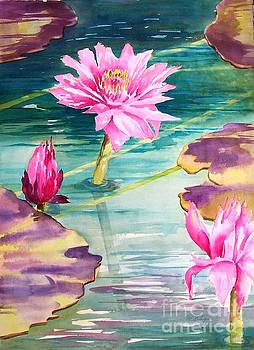 Water Lilies by Maryann Schigur