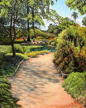 Alice Keck Park by Lorna Saiki
