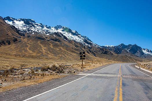 Andean Road by Kusi Seminario
