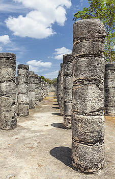 Columns In The Temple Of A Thousand by Bryan Mullennix