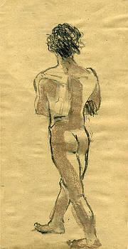 Figure Study by Lelia Sorokina