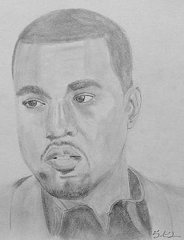 Kanye West by Estelle BRETON-MAYA