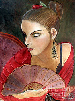 The Flamenco Dancer by Pilar  Martinez-Byrne
