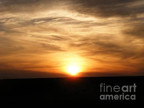 Winter Sunset by Helena Marais