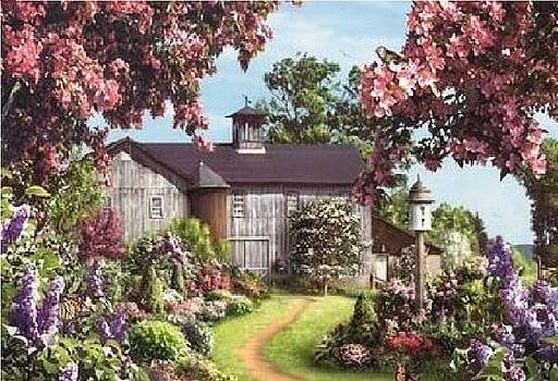 House Of Flowers by Cindy Jerry