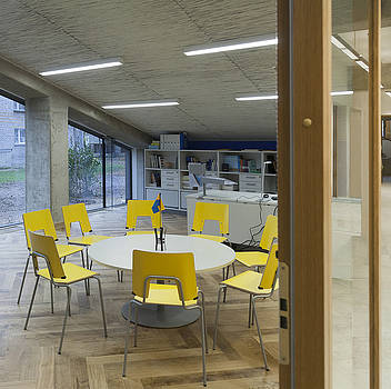 The Dining Area Of The New Buildings by Jaak Nilson