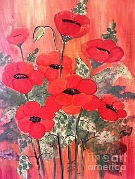 Flower Paintings by Rekha Artz