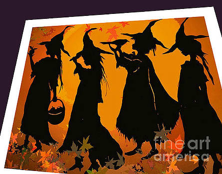 4 Witches and a Crow by Nancy Michalak