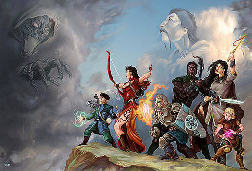 7 Adventurers by Storn Cook