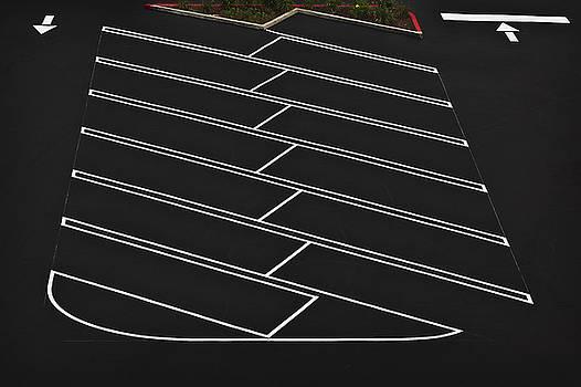 A Car Park Indoors Parking Lot by Dan Kaufman
