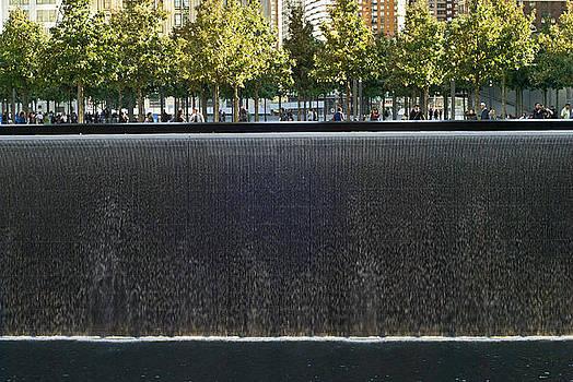 911 Memorial Park Falls by Andrew Kazmierski