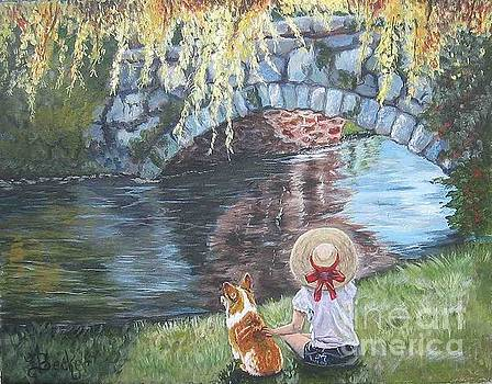A Day by the Stone Bridge by Ann Becker