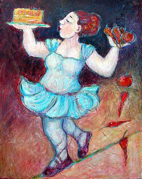 A Delicate Balance... by Zina Chmielowski