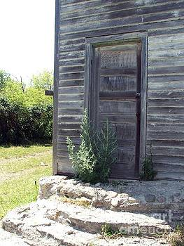 A Door to Grandma's Youth- colored by Ashley Vipond