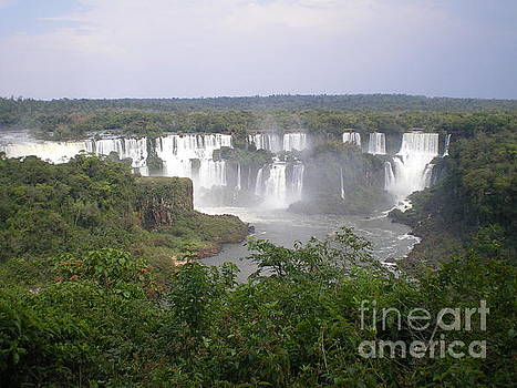 A Lookout to Iguassu Falls by Paul Jessop