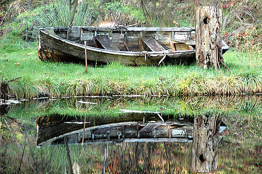 Abandoned Reflection by Wanda Jesfield