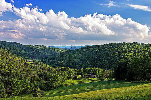Above Woodstock by Larry Darnell