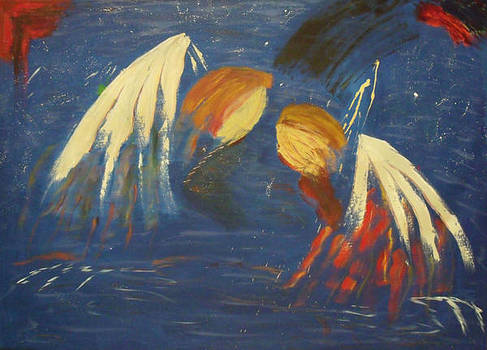 Abstract Angels by Vonna Beam