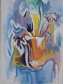 Abstract Flowers by Larisa M